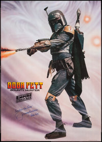 """The Empire Strikes Back (Factors, 1980). Autographed Character Poster (20"""" X 28""""). Science Fiction"""