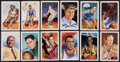 Basketball Collectibles:Others, Basketball Hall of Fame Signed Postcard Lot of 21. ...