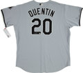 Baseball Collectibles:Uniforms, Carlos Quentin Signed Chicago White Sox Jersey. ...