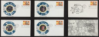 Star Wars (Academy of Science Fiction Films, 1977). Limited Edition Set of 4 First Day of Issue Stamped Envelopes (3.5&q...