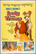 """Movie Posters:Animation, Lady and the Tramp & Other Lot (Buena Vista, R-1972). Poster(40"""" X 60""""). Animation.. ... (Total: 2 Items)"""