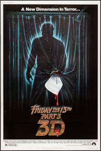 "Friday the 13th Part 3 & Other Lot (Paramount, 1982). Posters (2) (40"" X 60"") 3D Style and Regular. Horror..."