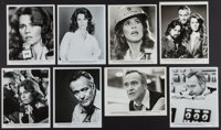 """The China Syndrome (Columbia, 1979). Portrait Photos (10) and Photos (7) (8"""" X 10""""). Thriller. ... (Total: 17..."""