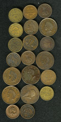 Civil War Patriotics: , (1861-1865) U.S. Civil War Token Group of 25 Tokens, All Identifiedby Fuld Numbers. An excellent group that should be viewe... (Total:25 tokens)