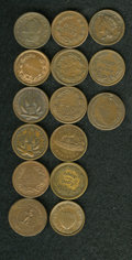 Civil War Patriotics: , (1861-1865) U.S. Civil War Group Lot of 15 Miscellaneous Tokens.All are identified by Fuld numbers and suitable for inclusi...(Total: 15 tokens)