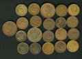 Civil War Merchants: , (11861-1865) U.S. Civil War Storecard Group Lot of 21 Tokens. Anice lot of identified tokens, suitable as a starter collec...(Total: 21 tokens)