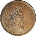 Assay Medals: , 1861 Assay Commission Medal. MS64 Brown Uncertified. Julian AC-2, R.5. Copper, 33.2 mm., 304.0 grains. A bust of Liberty fac...
