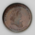 Assay Medals: , 1867 Assay Commission Medal. PR63 Brown Uncertified. Julian AC-3,R.5. Copper, 33.5 mm., 328.7 grains. A bust of Liberty fac...