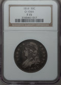 Bust Half Dollars: , 1814 50C Fine 15 NGC. O-104A. NGC Census: (6/577). PCGS Population(6/551). Mintage: 1,039,075. Numismedia Wsl. Price for ...