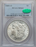 Morgan Dollars: , 1889-O $1 MS64 PCGS. CAC. PCGS Population (1456/151). NGC Census:(953/55). Mintage: 11,875,000. Numismedia Wsl. Price for ...