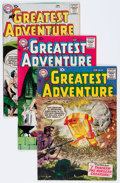 Silver Age (1956-1969):Adventure, My Greatest Adventure Group (DC, 1957-61) Condition: Average VG.... (Total: 8 Comic Books)