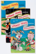 Golden Age (1938-1955):Cartoon Character, Looney Tunes and Merrie Melodies Comics Group (Dell, 1946-52)Condition: Average GD+.... (Total: 14 Comic Books)