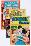 Bronze Age (1970-1979):Romance, Charlton Silver-Modern Age Romance Comics File Copies Group(Charlton, 1968-83) Condition: Average VF-.... (Total: 90 ComicBooks)