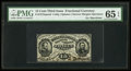 Fractional Currency:Third Issue, Fr. 1273SP 15¢ Third Issue Narrow Margin Face PMG Gem Uncirculated65 EPQ.. ...