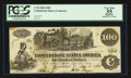 Confederate Notes:1862 Issues, T39 $100 1862 PF-1 Cr. 287.. ...