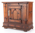 Furniture , A GERMAN WALNUT CUPBOARD. 18th century. 39-1/2 inches x 42 inches x 20 inches (100.3 x 106.7 x 50.8 cm). The Elton M. Hyde...