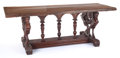 Furniture , AN ITALIAN MANNERIST WALNUT TRESTLE TABLE. 17th century. 32-1/2 inches x 88 inches x 32 inches (82.6 x 223.5 x 81.3 cm). T...