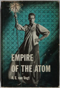 Books:Science Fiction & Fantasy, A. E. van Vogt. Empire of the Atom. Shasta, 1956. First edition, first printing. Minor rubbing to boards. Light ...