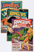 Golden Age (1938-1955):War, Rangers Comics Group (Fiction House, 1946-47).... (Total: 6 ComicBooks)