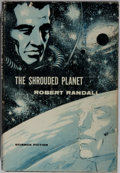 Books:Science Fiction & Fantasy, [Robert Silverberg]. Robert Randall. The Shrouded Planet. Gnome, 1957. First edition, first printing. Signed by th...