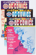 Magazines:Fanzine, Amazing World of DC Comics #1-3 Group (DC, 1974) Condition: Average NM.... (Total: 3 Comic Books)