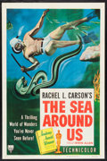 "Movie Posters:Documentary, The Sea Around Us (RKO, 1953). One Sheet (27"" X 41""). Documentary.. ..."