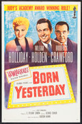 """Movie Posters:Comedy, Born Yesterday (Columbia, R-1961). One Sheet (27"""" X 41""""). Comedy.. ..."""