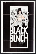 "Movie Posters:Blaxploitation, The Black Bunch (Entertainment Pyramid, 1973). One Sheet (28"" X42""). Blaxploitation.. ..."