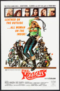 "Movie Posters:Exploitation, The Hellcats & Other Lot (Crown International, 1968). OneSheets (2) (27"" X 41""). Exploitation.. ... (Total: 2 Items)"
