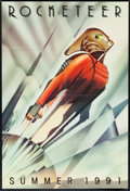 "Movie Posters:Action, The Rocketeer (Walt Disney Pictures, 1991). One Sheet (27"" X 40""). Action.. ..."