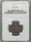 Half Cents: , 1828 1/2 C 12 Stars VF30 NGC. NGC Census: (0/170). PCGS Population(8/182). Mintage: 606,000. Numismedia Wsl. Price for pro...
