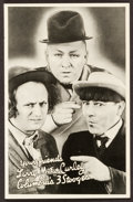 "Movie Posters:Comedy, Three Stooges Promotional Photo (Columbia, 1935). PromotionalGiveaway Heralds (10) (5"" X 7.75""). Comedy.. ... (Total: 10 Items)"