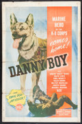 "Movie Posters:Adventure, Danny Boy (PRC, 1946). One Sheet (27"" X 41""). Adventure.. ..."