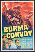 "Movie Posters:War, Burma Convoy (Universal, 1941). One Sheet (27"" X 41""). War.. ..."