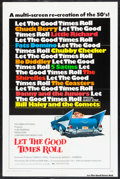 "Movie Posters:Rock and Roll, Let the Good Times Roll (Columbia, 1973). One Sheet (27"" X 41"")Style A. Rock and Roll.. ..."