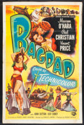 "Movie Posters:Adventure, Bagdad (Universal International, 1950). One Sheet (27"" X 41"").Adventure.. ..."