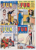 Magazines:Humor, Army and Navy Fun Parade File Copies Box Lot (Fun Parade,1940s-'50s) Condition: Average FN/VF....