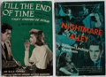 Books:Fiction, [Photoplay Editions]. Tyrone Power and Others. Group of Two Books.Various, 1944-1948. Nightmare Alley with decorated bo...(Total: 2 Items)
