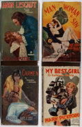 Books:Fiction, [Photoplay Editions]. Mary Pickford, John Gilbert, and Others.Group of Four Books Published by Readers Library. Good or bet...(Total: 4 Items)