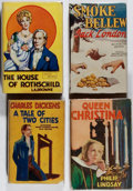 Books:Fiction, [Photoplay Editions]. Greta Garbo and Others. Group of Four BooksPublished by Readers Library. Good or better condition.... (Total:4 Items)