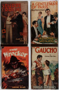 Books:Fiction, [Photoplay Editions]. Douglas Fairbanks, Adolph Menjou, and Others.Group of Four Books Published by Readers Library. Good o... (Total:4 Items)