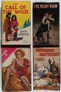 Books:Fiction, [Photoplay Editions]. Jack London and Others. Group of Four BooksPublished by Readers Library. Good or better condition.... (Total:4 Items)