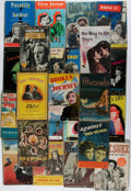 Books:Fiction, [Photoplay Editions]. Orson Wells, Humphrey Bogart, and Others.Group of 23 Books In Wrappers. 22 are from The Book of...