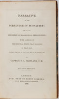 Books:World History, Napoleon Bonaparte, [subject]. F. L. Maitland. Narrative of theSurrender of Buonaparte and of His Residence on Board H....