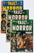 Golden Age (1938-1955):Horror, Vault of Horror Group (EC, 1951-53) Condition: Average VG....(Total: 4 Comic Books)
