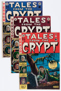Golden Age (1938-1955):Horror, Tales From the Crypt Group (EC, 1951-53) Condition: Average GD+....(Total: 4 Comic Books)