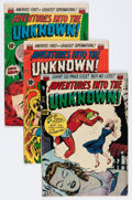 Silver Age (1956-1969):Horror, Adventures Into The Unknown Group (ACG, 1951-66) Condition: AverageGD.... (Total: 26 Comic Books)