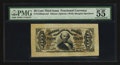 Fractional Currency:Third Issue, Fr. 1329SP 50¢ Third Issue Spinner Wide Margin Face PMG About Uncirculated 55 EPQ.. ...