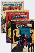 Golden Age (1938-1955):Horror, Adventures Into The Unknown Group (ACG, 1950-51).... (Total: 7Comic Books)