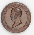 Assay Medals: , 1883 Assay Commission Medal. PR64 Brown Uncertified. Julian AC-26, R.5. Copper, 33.6 mm., 314.8 grains. The obverse has a bu...